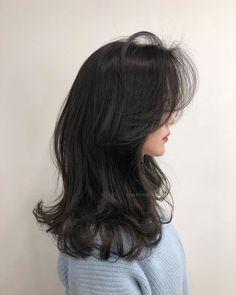 Build perm- # build perm - New Sites Wavy Layered Hair, Short Wavy Hair, Long Hair Cuts, Korean Haircut Long, Korean Long Hair, Short Hair Korean Style, Korean Hairstyle Long, Korean Perm, Medium Hair Cuts