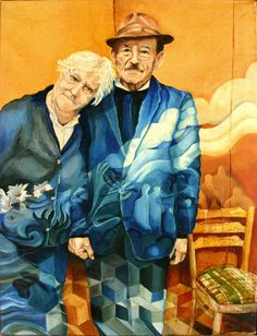 Polish Immigrants Painting by Gideon Cohn - Polish Immigrants Fine Art Prints and Posters for Sale