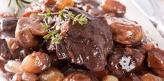 Discover recipes, home ideas, style inspiration and other ideas to try. Beef Bourguignon, How To Cook Beef, What To Cook, Healthy Eating Tips, Healthy Dinner Recipes, Meal Planner Printable, Batch Cooking, Comfort Food, Winter Food