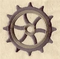 Basic Gears (Design Pack)   Urban Threads: Unique and Awesome Embroidery Designs