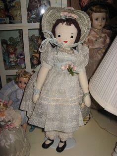 Vintage Edith Flack Ackley Doll by Reyney