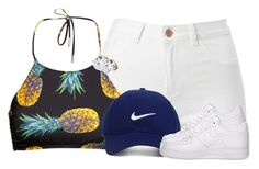 """Untitled #2570"" by alisha-caprise ❤ liked on Polyvore featuring H&M, Nike Golf and NIKE"