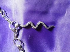 Hey, I found this really awesome Etsy listing at https://www.etsy.com/listing/224109106/costume-necklace-silver-snake-with