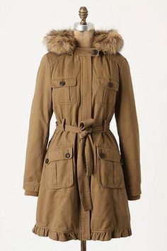 NEW Anthropologie Daughters of the Liberation Vaterland Parka Size 6 | eBay  Keeping an eye out for this in my size on ebay.