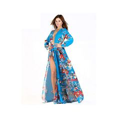 Now available on our store: Blue Kimono Dress Check it out here! http://coco-glam-boutique.myshopify.com/products/blue-kimono-dress