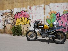 1986 Honda CB250 by Leroharley
