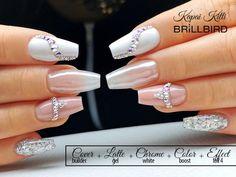 Get Free Cosmetic Samples! Free Cosmetic Samples, Elegant Nails, White Nails, Gel Nails, Cosmetics, Nap, Makeup, Nail Manicure, Bridal Nails