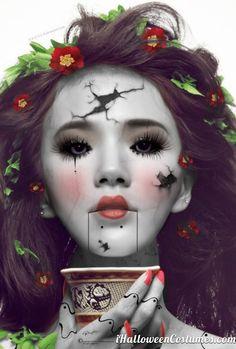 doll makeup - Halloween Costumes 2013