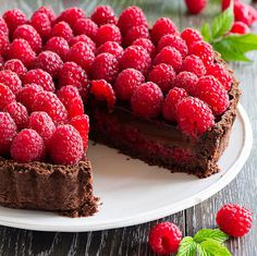 Raspberry, Strawberry, Dessert Aux Fruits, Berry Cheesecake, Girl Cooking, Sweets Cake, Chocolate, Cake Cookies, Puddings