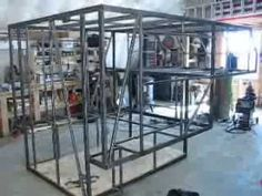 Project Homemade Truck Camper Part 1 Pickup Bed Camper, Car Camper, Camper Parts, Camper Trailers, Travel Trailers, Slide In Truck Campers, Small Campers, Truck Camping, Camping Gear