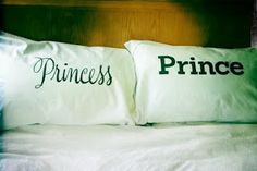 His & Her Pillows!