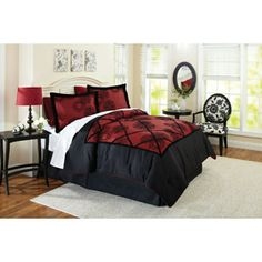 Better Homes and Gardens Amaryllis Bedding Comforter Set - This is what I wanted the first time we bought a bed set. Not a high priority, but a want.