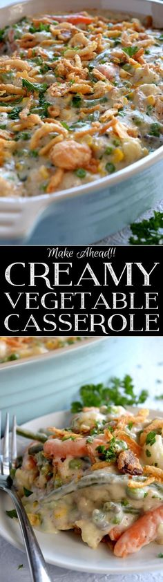 A make ahead casserole consisting of vegetables and a creamy sauce – served as a side or a main, this casserole will most certainly get vegetables onto your table and into the bellies of your loved ones. I could have…