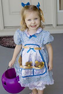 I have many great childhood memories of Halloween. Halloween was such a fun tradition for our family. My Mom and Step-Dad planned out costu. Dress Up Costumes, Baby Costumes, Costume Ideas, Clever Costumes, Goldilocks Costume, Storybook Character Costumes, World Book Day Ideas, Wholesale Halloween Costumes, Costume Craze