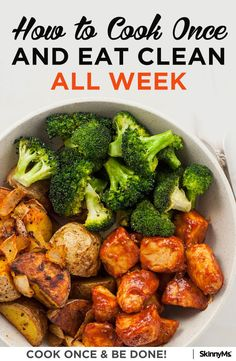 Cook Once For All Week | JYCTY