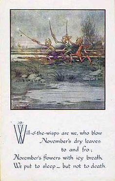 Helen Jacobs. November. (postcard)