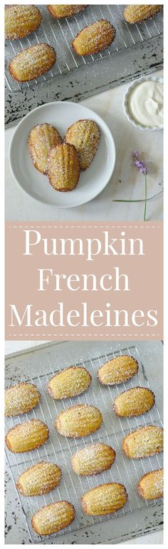 Pumpkin French Madeleines  | Posted by: DebbieNet.com