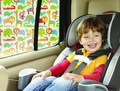 Toddler Tints - taking car window shades to an exciting new level