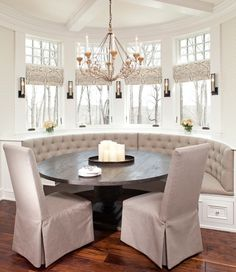 window design ideas | banquettes, homework and window design