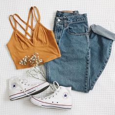 everyday outfits for moms,everyday outfits simple,everyday outfits casual,everyday outfits for women Casual Outfits For Teens, Teenage Outfits, Cute Comfy Outfits, Cute Summer Outfits, Teen Fashion Outfits, Look Fashion, Pretty Outfits, Stylish Outfits, Fall Outfits