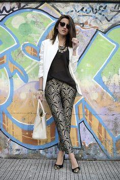 brocade pants
