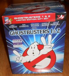 Ghostbusters & Ghostbusters II 2 Limited Edition Gift Set Digibook Blu-ray NEW