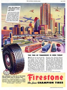1945 ... tire from the future!
