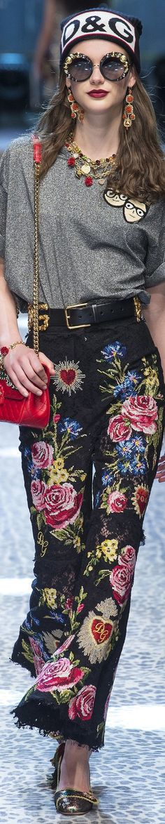 Dolce and Gabbana FW 2017 vogue.com