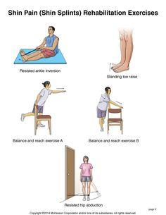 Summit Medical Group - Shin Pain (Shin Splints) Exercises