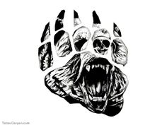 crazy grizzly drawings - Google Search