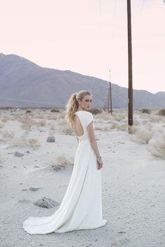 keyhole back desert wedding dress Wedding Attire, Wedding Gowns, Bridal Dresses, Bridesmaid Dresses, Boho Chic, Sarah Seven, Dream Dress, Bridal Style, Wedding Styles