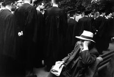 Robert Frank, Yale commencement - New Haven Green, New Haven, Connecticut