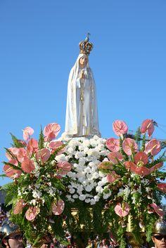 Fátima, Portugal - Nossa Senhora apareceu aos pastorinhos a 1ª vez a 13 de Maio de 1917.