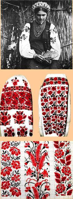 *Ukrainian embroidery: