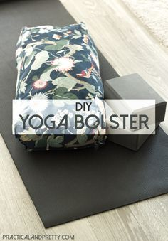 This DIY yoga bolster is a must if you're a true yogi!