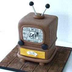 Old-fashioned TV cake