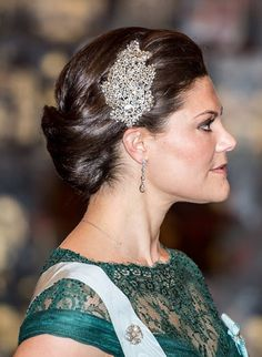 Princess Victoria attends on meeting of the Swedish Academy, May 2015