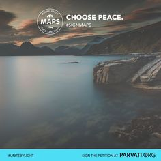 Feel the deep peace of the earth. Help to keep it safe: Please sign and share the MAPS: Marine Arctic Peace Sanctuary petition at Parvati.org.
