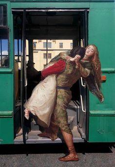 Alexey Kondakov's Remixed Classical Paintings | iGNANT.com