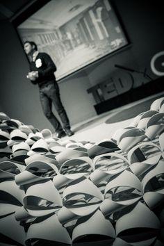 TEDx Gijón by Yeray Menéndez, via Behance