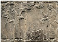 Jehu, king of Israel, - took power in a bloody coup; the only surviving likeness of a king of Israel or Judah (2 Kings 9:1-10, 36)