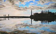 Reflecciones-Faro de Maspalomas - Robert C. Murray II