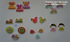 Online shopping #19 - Wood buttons / Деревянные пуговицы