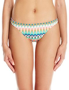 0b744d0c1fa Bikini Lab Women's Ikat Stop This Feeling Skimpy Hipster Bottom, Multi,  Small - http