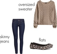 Fall Outfit by H & M. All under $60.