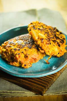 Millet and Sweet Potato Cakes-- I just made these and they are super easy and delicious!!!! next time I want to try to make them without eggs so that they will be vegan!