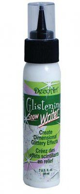 DecoArt Glistening Snow Writer (60ml)