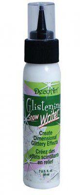 DecoArt Glistening Snow Writer (60ml)