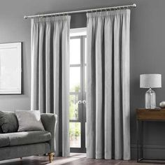 Stripe Lined Eyelet Curtains Reasonable Marks And Spencer 66ins Wide 54ins Drop Products Are Sold Without Limitations m&s