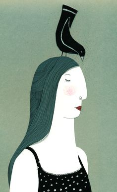 mujer en gris / Sofía Moreno Aliste